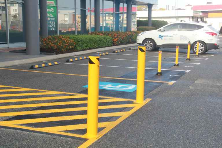 165mm Base Plate Bollards