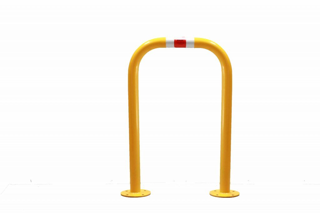 Pedestrian Barrier Grab Rail Bp 600mm The Bollard Shop