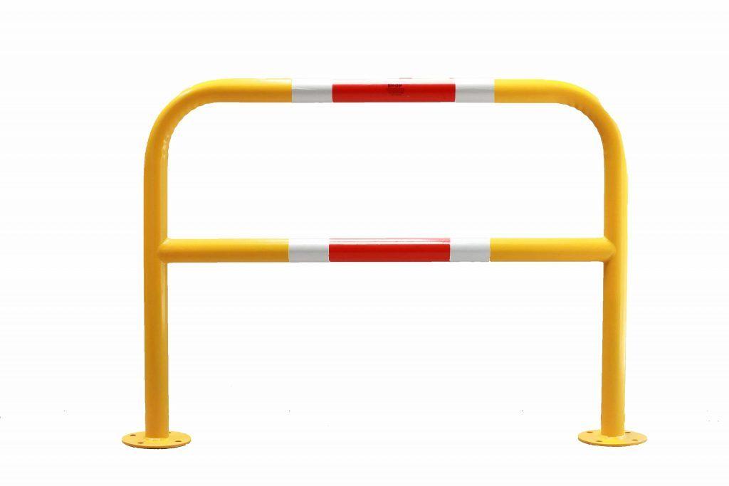 Pedestrian Barrier Grab Rail Bp B 1200mm With Bar The