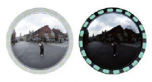 600mm Luminescent Framed mirror