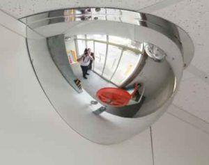 400mm Half Dome Mirror