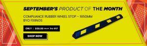Wheelstop September Promotion